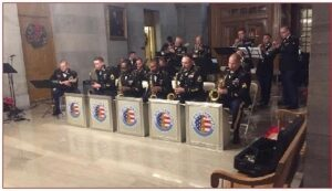 129th US ARMY BAND GUARDSMEN OF SWING